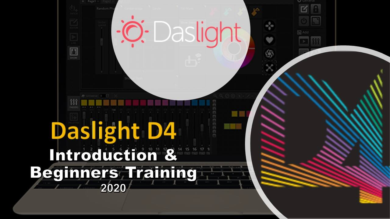 Daslight DVC4 Tutorial Training